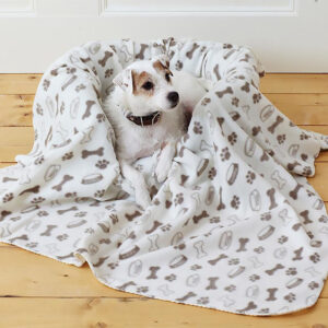 Copertina morbida per cani