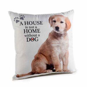 Cuscino con cucciolo di Golden Retriever